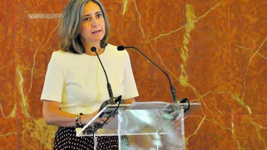 Montserrat Barriga Andrés: «Canarias es un sitio ideal para experimentar la aviación sostenible»