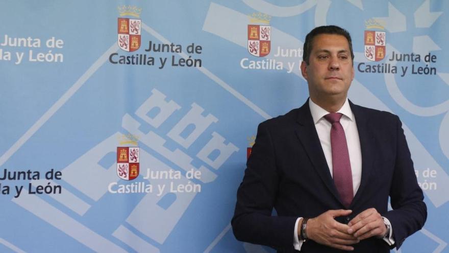 Alberto Castro, hoy en la Delegación de la Junta.