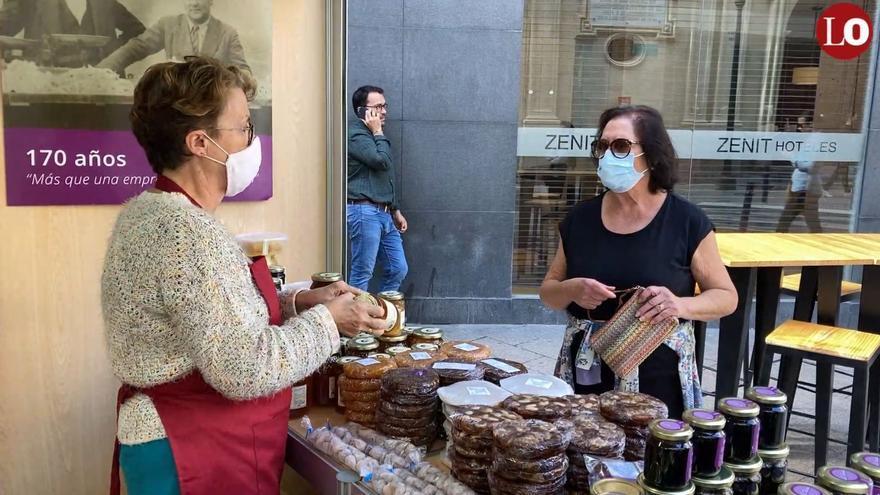 El mercadillo de Todos los Santos vuelve a la Plaza de San Pedro