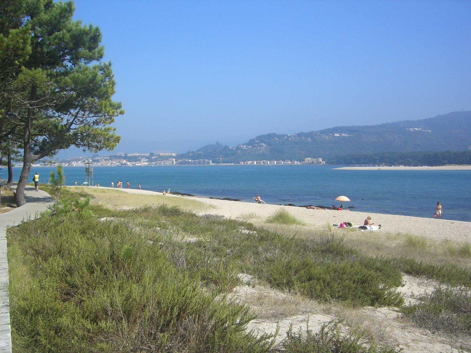 Vista de la Playa de O Muíño / Eva González