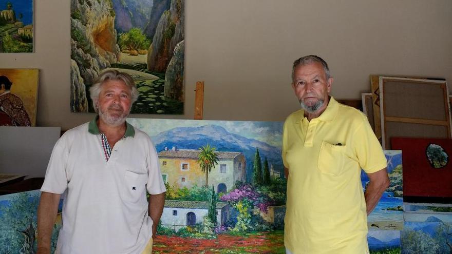 Das sind die letzten echten Landschaftsmaler auf Mallorca