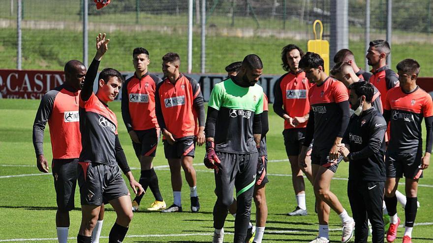 """La vista al Girona alimenta la ambición del Sporting, que quiere atar el play-off: """"Es el momento de materializarlo"""""""