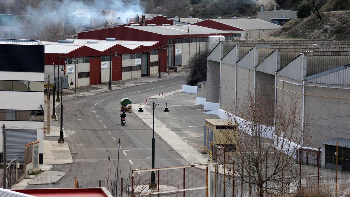 Imagen del polígono industrial Cotes Baixes de Alcoy.