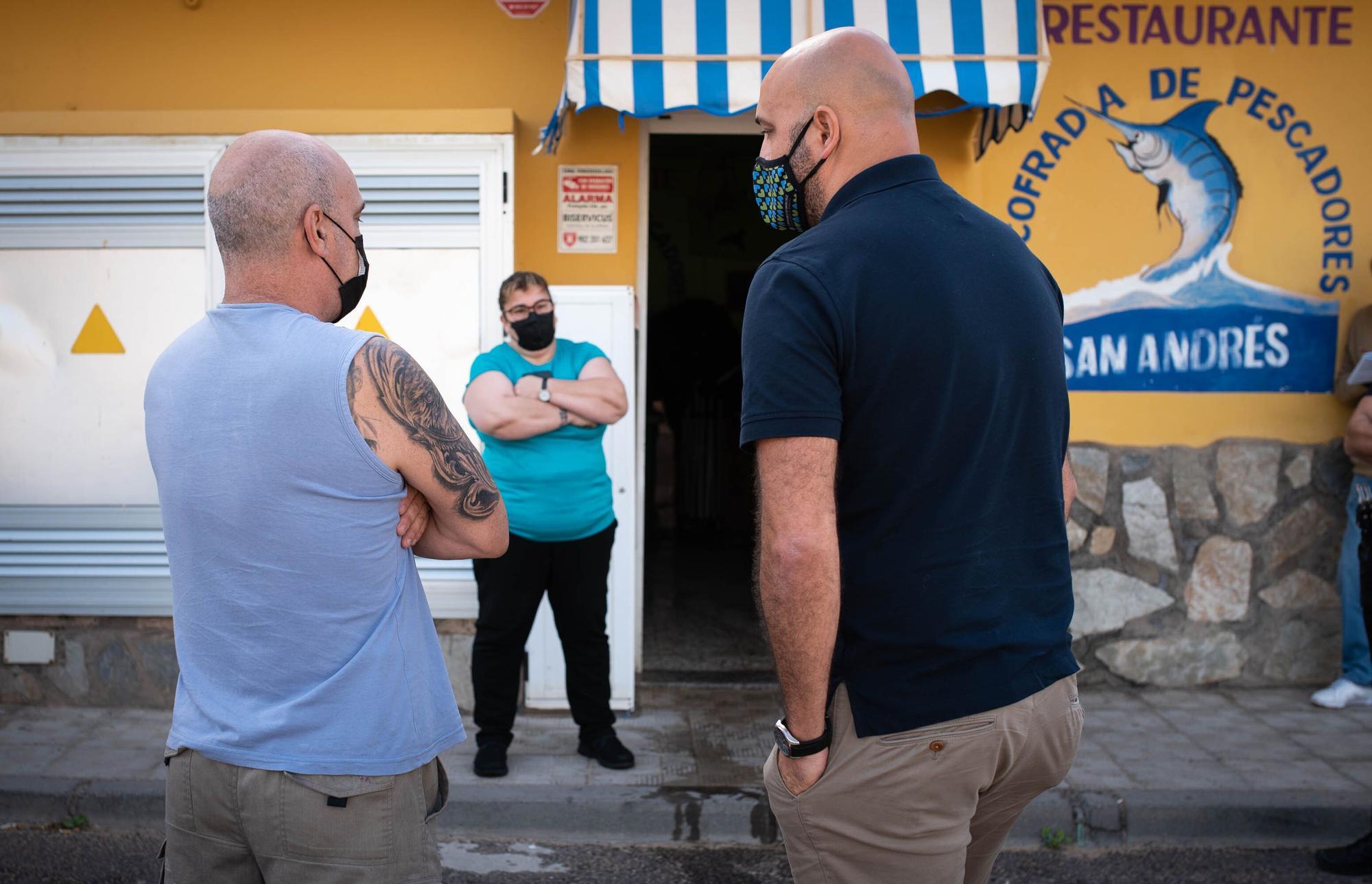Precinto Restaurante Cofradía Pescadores San Andrés