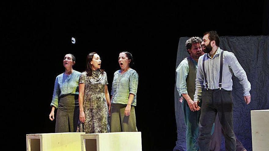 """Sarabela estrena """"A lingua das bolboretas"""" en el Auditorio"""