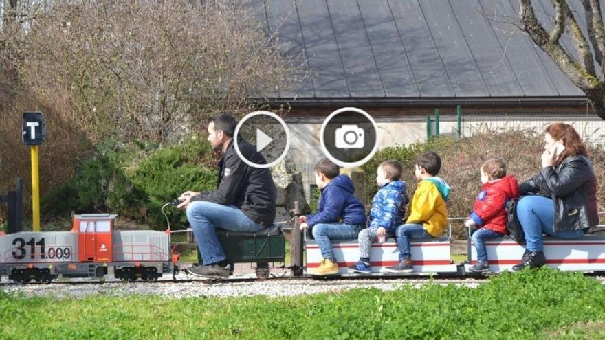 ¡Niños (y adultos) al tren!