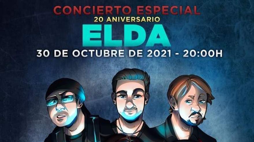El grupo Lándevir celebra sus 20 años con un concierto de rock