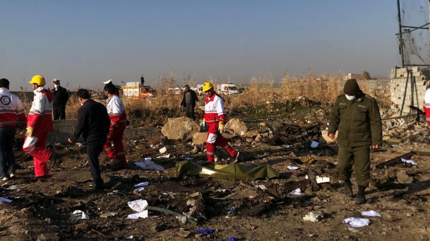 S'estavella un avió ucraïnès amb 167 passatgers