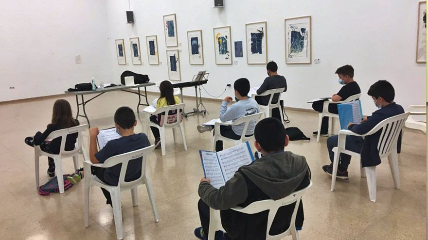Escola de música Josep Rosell de Sumarcàrcer.  l-emv