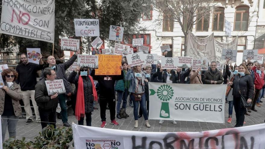 Cort deniega definitivamente la licencia a la planta de hormigón de Son Güells
