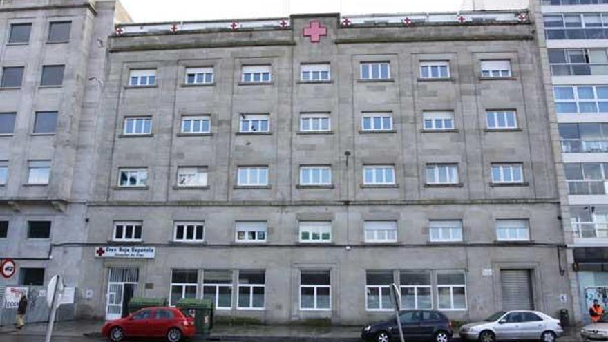 Tras el desalojo progresivo del centro, el edificio albergará actividades propias de Cruz Roja.