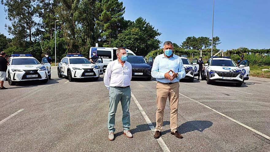 Telmo Martín plantea que la Policía Nacional patrulle Sanxenxo cuando hay más población