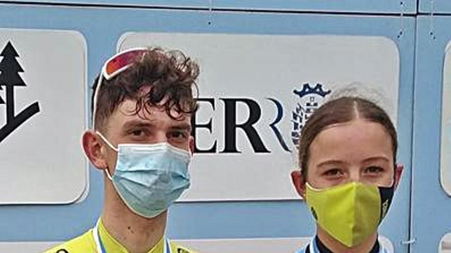 María Filgueiras, campeona gallega cadete de ciclocross