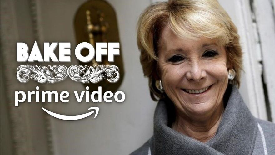Esperanza Aguirre, bombazo de Amazon Prime Video: será la concursante estrella de 'Celebrity Bake off'