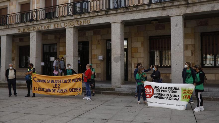 La PAH de Zamora insta a los afectados a que acudan con rapidez a la plataforma para impedir desalojos