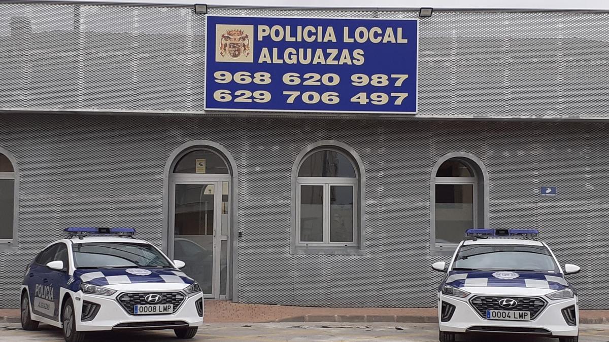 Dependencias de la Policía Local de Alguazas.