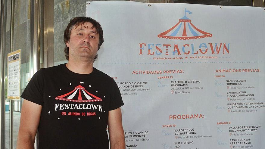 """""""Queremos voltar á Praza de Galicia con mil persoas xuntas escachando da risa"""""""