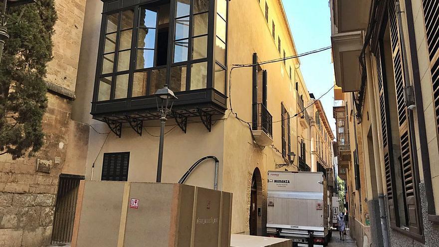Contracorriente | Últimos retoques en el palacete de Michael O'Leary en Palma