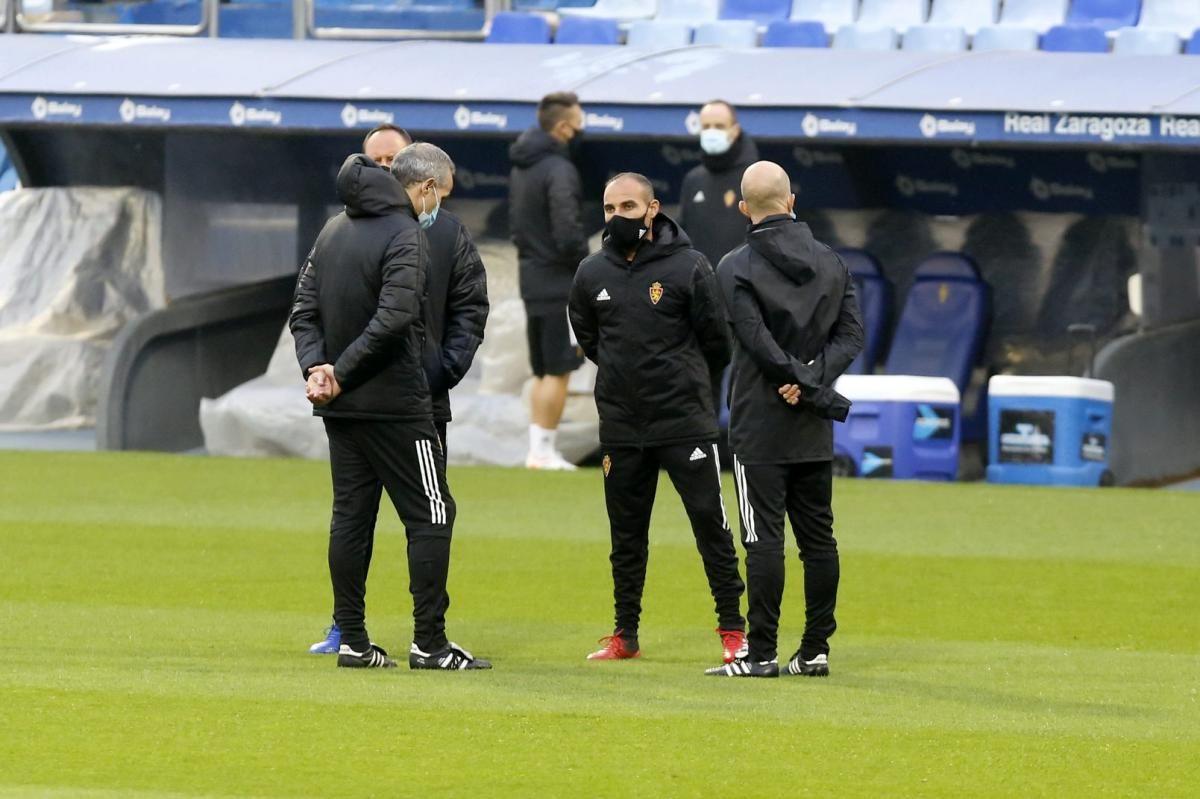 Entrenamiento del Real Zaragoza (12-22-2020)