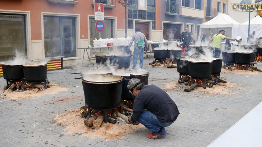 Vidreres cuina més de 2.800 litres de ranxo