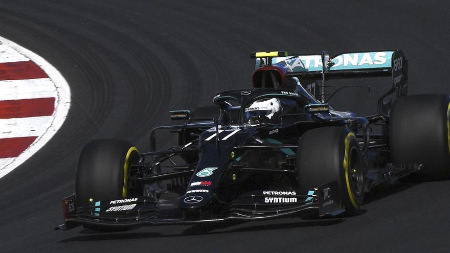 Bottas empieza por delante de Hamilton en el GP de Portugal