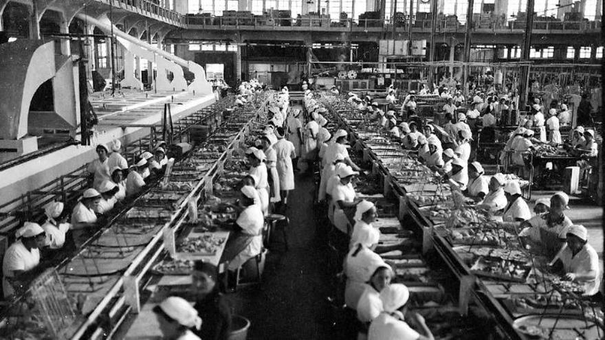 Industrias de antano