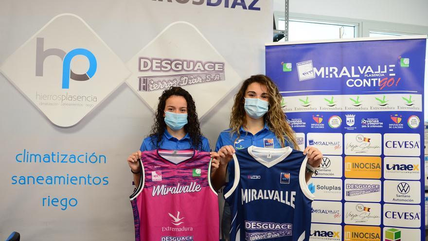 Alicia Morales-María Romero, feliz reencuentro en Miralvalle