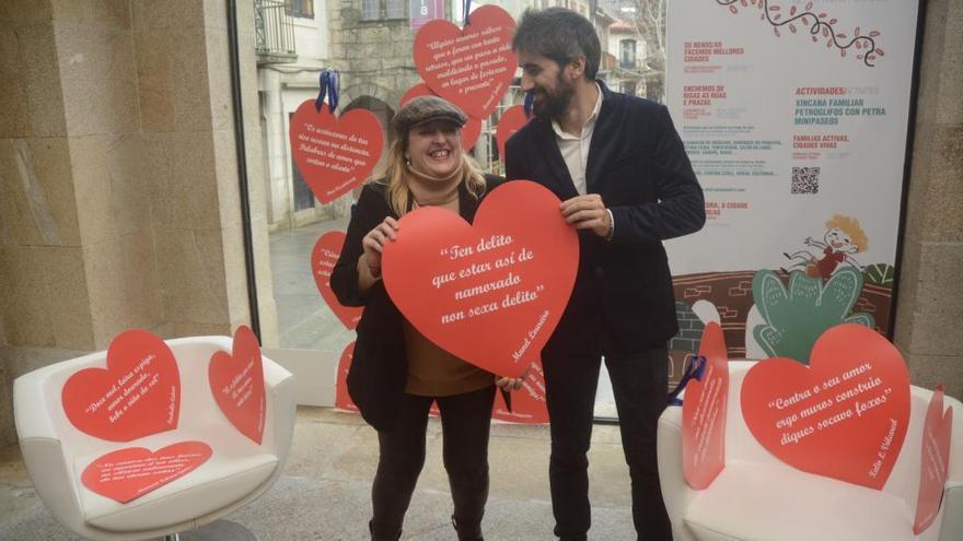 """""""Namórate de Pontevedra"""", la nueva campaña para impulsar el comercio local"""