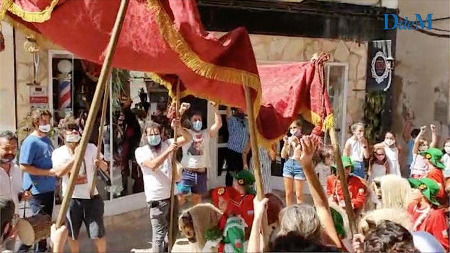 Felanitx vive un Sant Agustí con tensión política