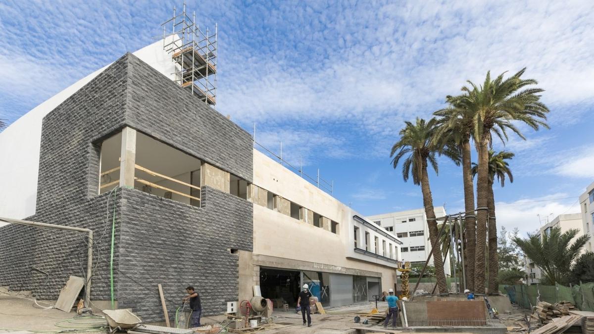 HiperDino ultima las obras de su nueva gran tienda en Las Palmas de Gran Canaria