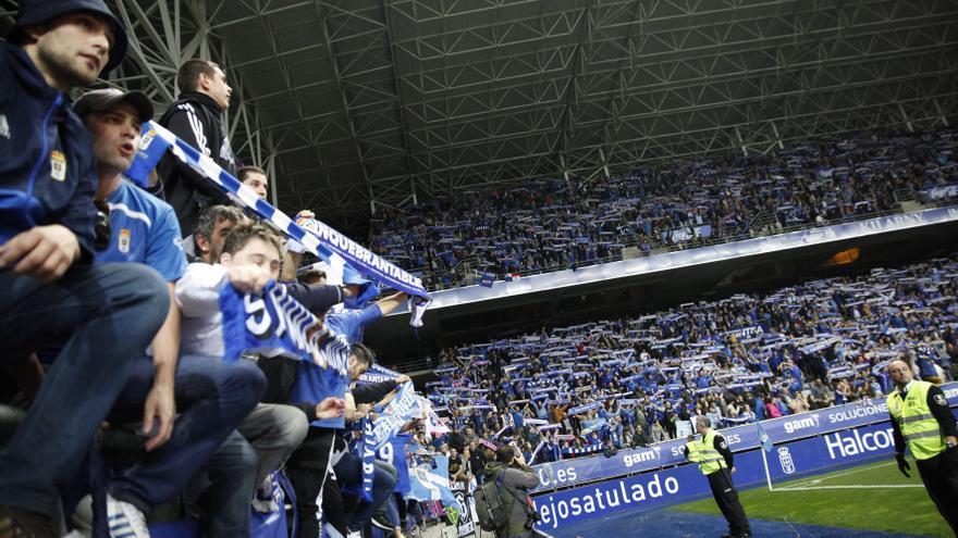 El Real Oviedo confía en despedir la temporada con 4.427 espectadores en el Carlos Tartiere