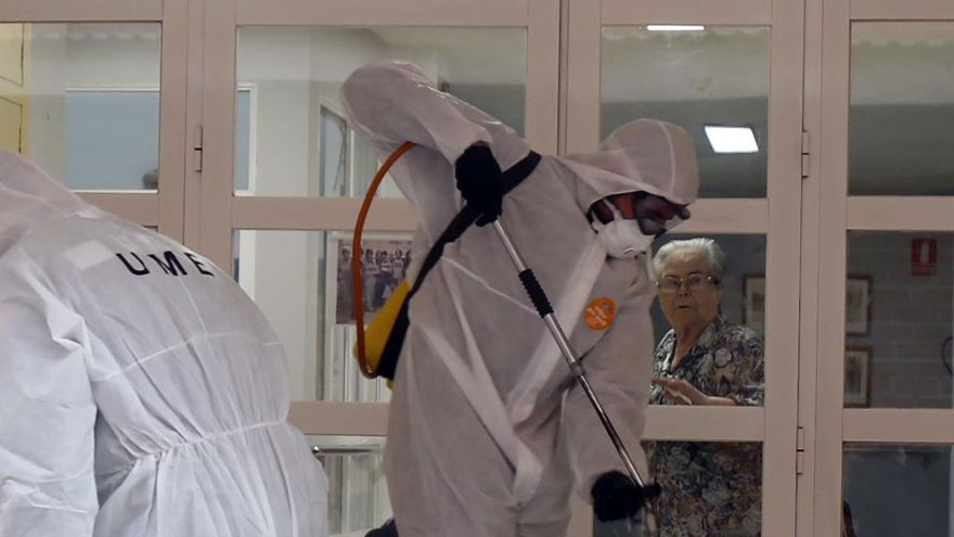 Residencias: test PCR a mayores y trabajadores