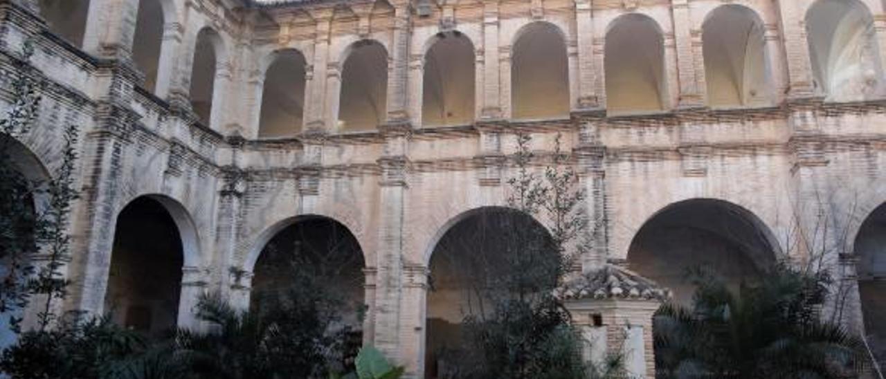El convento de la Santa Creu acogió entre sus muros al gobernador del Marquesat.