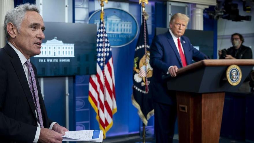 Dimite Scott Atlas, el asesor especial de Donald Trump sobre coronavirus