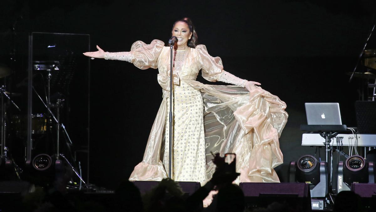Isabel Pantoja, en una actuación.