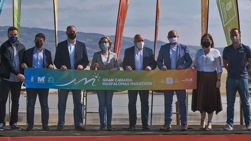 Casi 700 inscritos en el Gran Canaria Maspalomas Maratón
