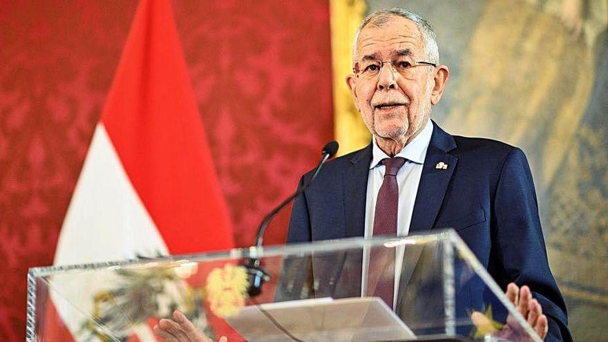 El futur canceller austríac i Els Verds acorden la continuïtat del Govern