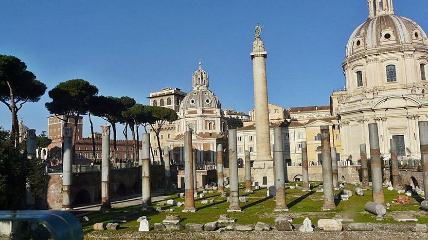Columna de Trajano, un 'faro' romano