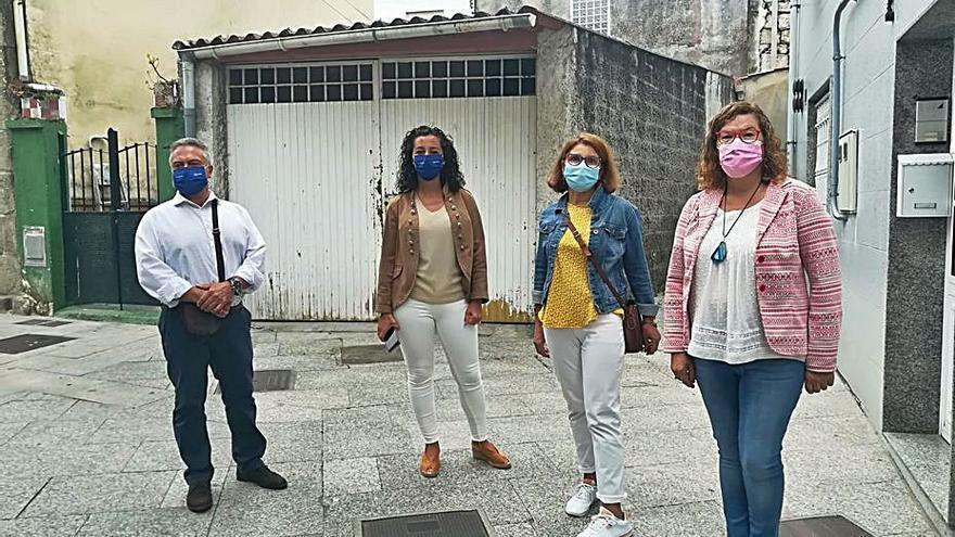 El Concello de Marín se compromete a efectuar mejoras en Cantodarea