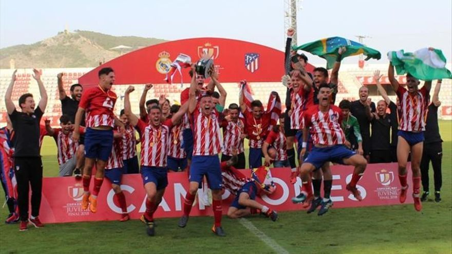 El Atlético gana la Copa juvenil