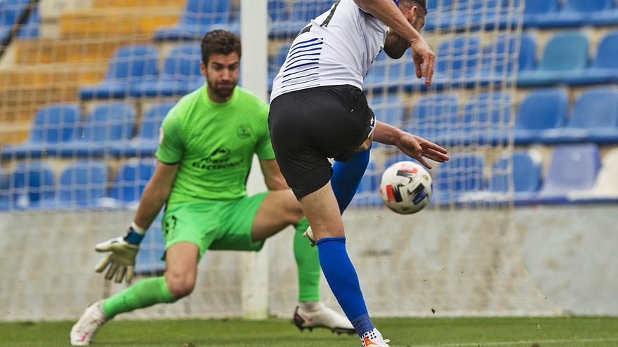 El Hércules solo ha marcado más goles que 12 equipos de los 102 de Segunda B
