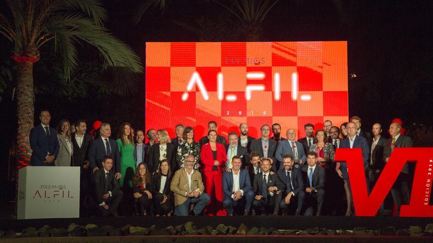 La novena edición de los Premios Alfil distinguen a Aguas de Alicante y Luis Galindo