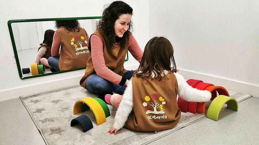 Una guardería en la que mandan los niños