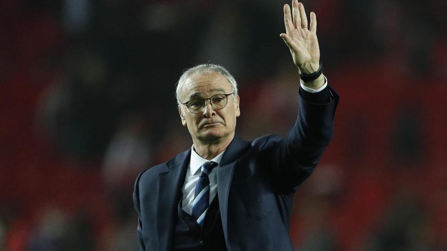 """Claudio Ranieri: """"Para vencer hemos de ser un equipo"""""""