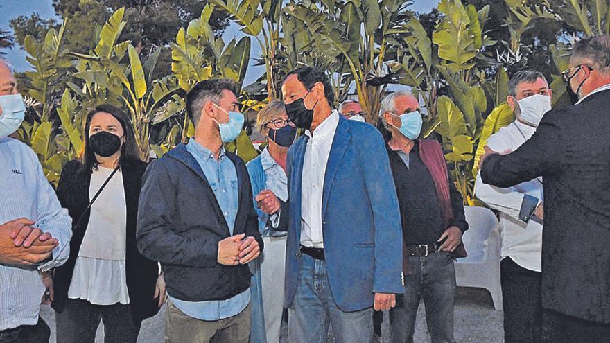 El PP planea otra cena con militantes que cuente con la presencia de Ballesta