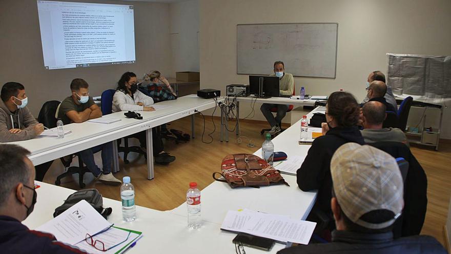 Comienza el  taller de empleo de albañilería