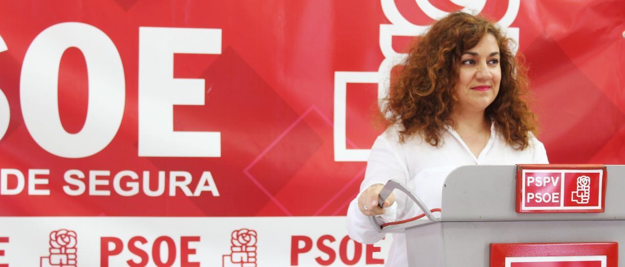 La socialista callosina Amparo Serrano