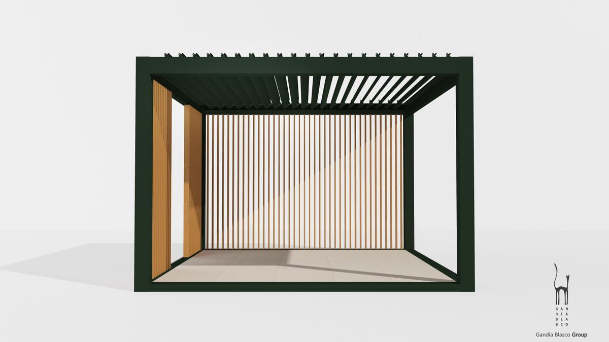 El techo bioclimático ofrece una amplia gama de múltiples posibilidades a la hora de crear ambientes únicos en las oficinas.
