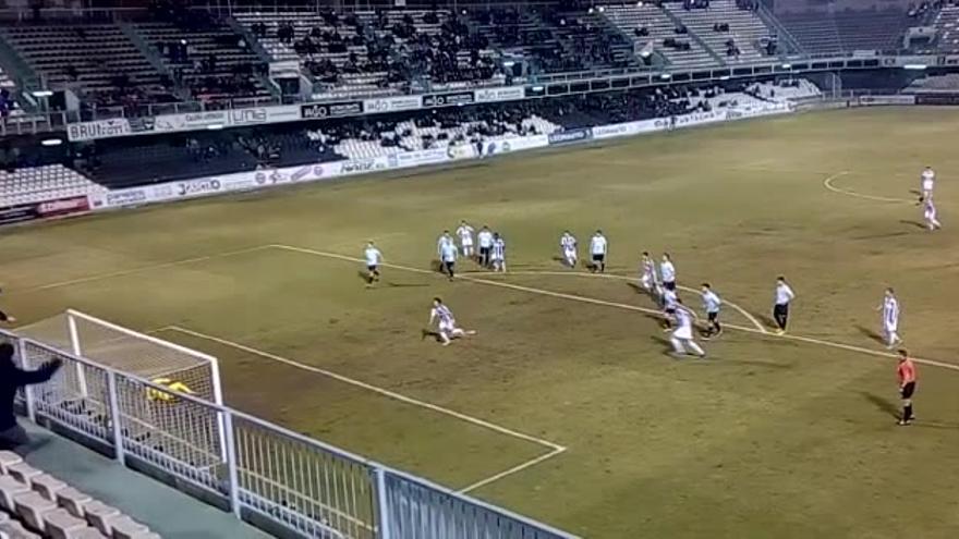 El Castellón enciende la traca en la segunda mitad ante el Almazora (4-0)
