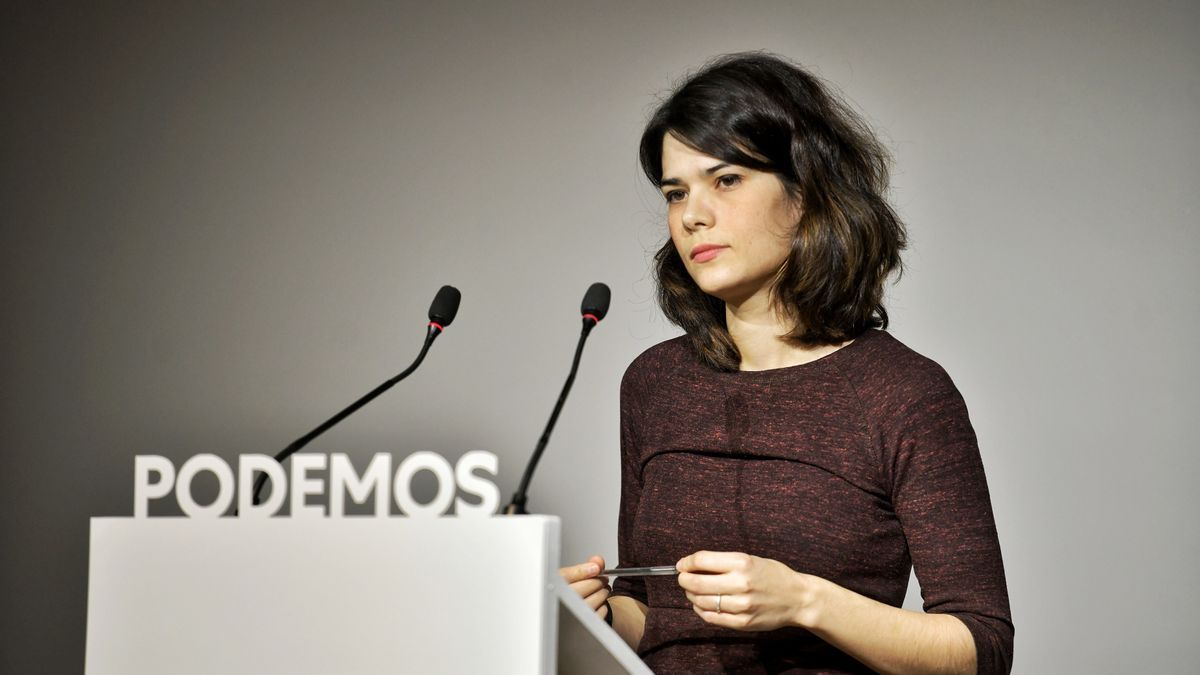 La portavoz de Unidas Podemos en la Asamblea de Madrid, Isa Serra